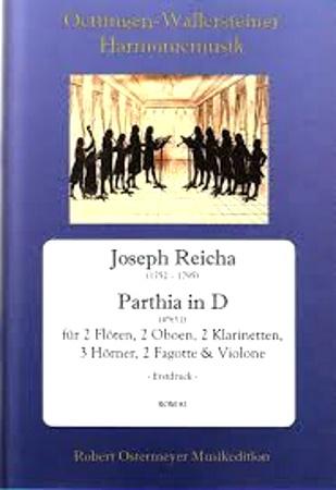 PARTHIA in D major score & parts