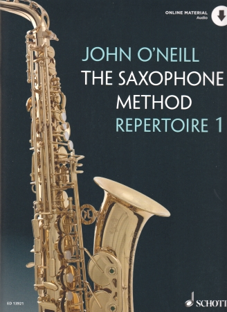 THE SAXOPHONE METHOD REPERTOIRE Book 1 + audio download