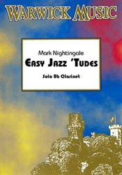 EASY JAZZY 'TUDES + CD for Clarinet