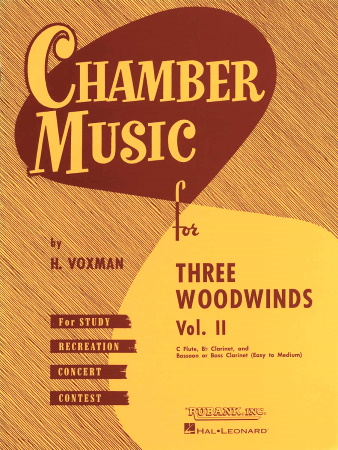 CHAMBER MUSIC for Three Woodwinds Volume 2 (playing score)