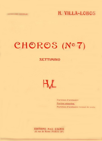 CHOROS No.7 set of parts