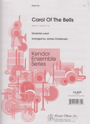 CAROL OF THE BELLS (score & parts)