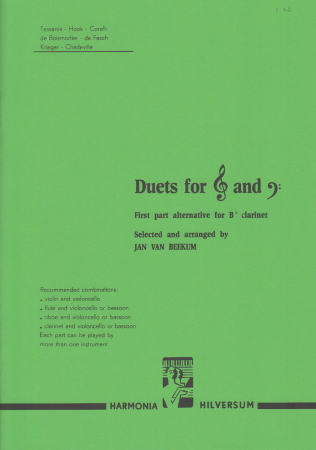 DUETS FOR TREBLE & BASS CLEF