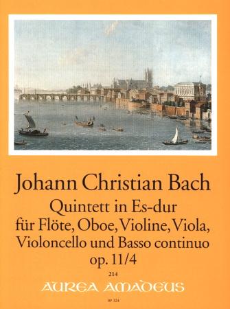 QUINTET in Eb major Op.11 No.4 score & parts