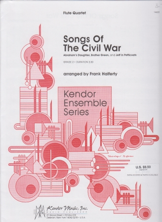 SONGS OF THE CIVIL WAR (score & parts)