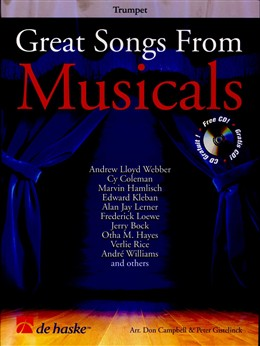 GREAT SONGS FROM MUSICALS + CD