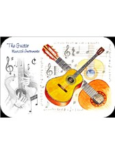 PLACEMATS Guitar (Pack of 4)