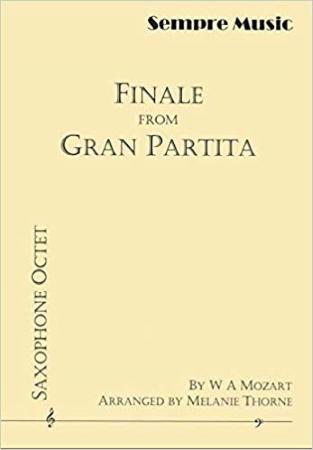 FINALE from Gran Partita (score & parts)