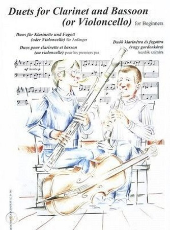 DUETS FOR CLARINET AND BASSOON for Beginners