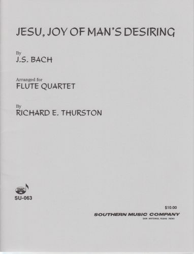JESU, JOY OF MAN'S DESIRING (score & parts)