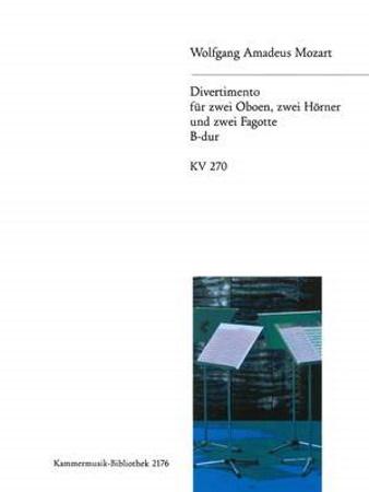 DIVERTIMENTO No.14 in Bb major KV270 (parts only)
