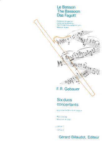 SIX DUOS CONCERTANTS Volume 1
