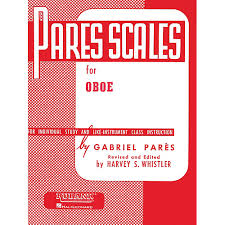 PARES SCALES FOR OBOE
