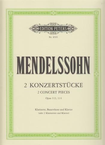 TWO CONCERT PIECES Op.113 and Op.114