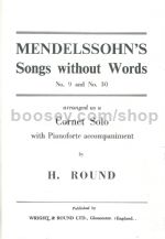 SONGS WITHOUT WORDS No.9 & No.30