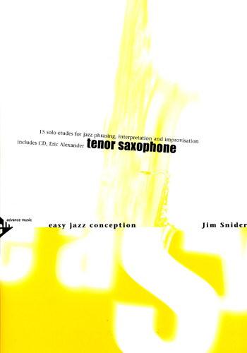 EASY JAZZ CONCEPTION + CD (tenor)