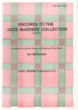 THE JOCK MCKENZIE COLLECTION Volume 1 BRASS BAND Part 3b F Horn