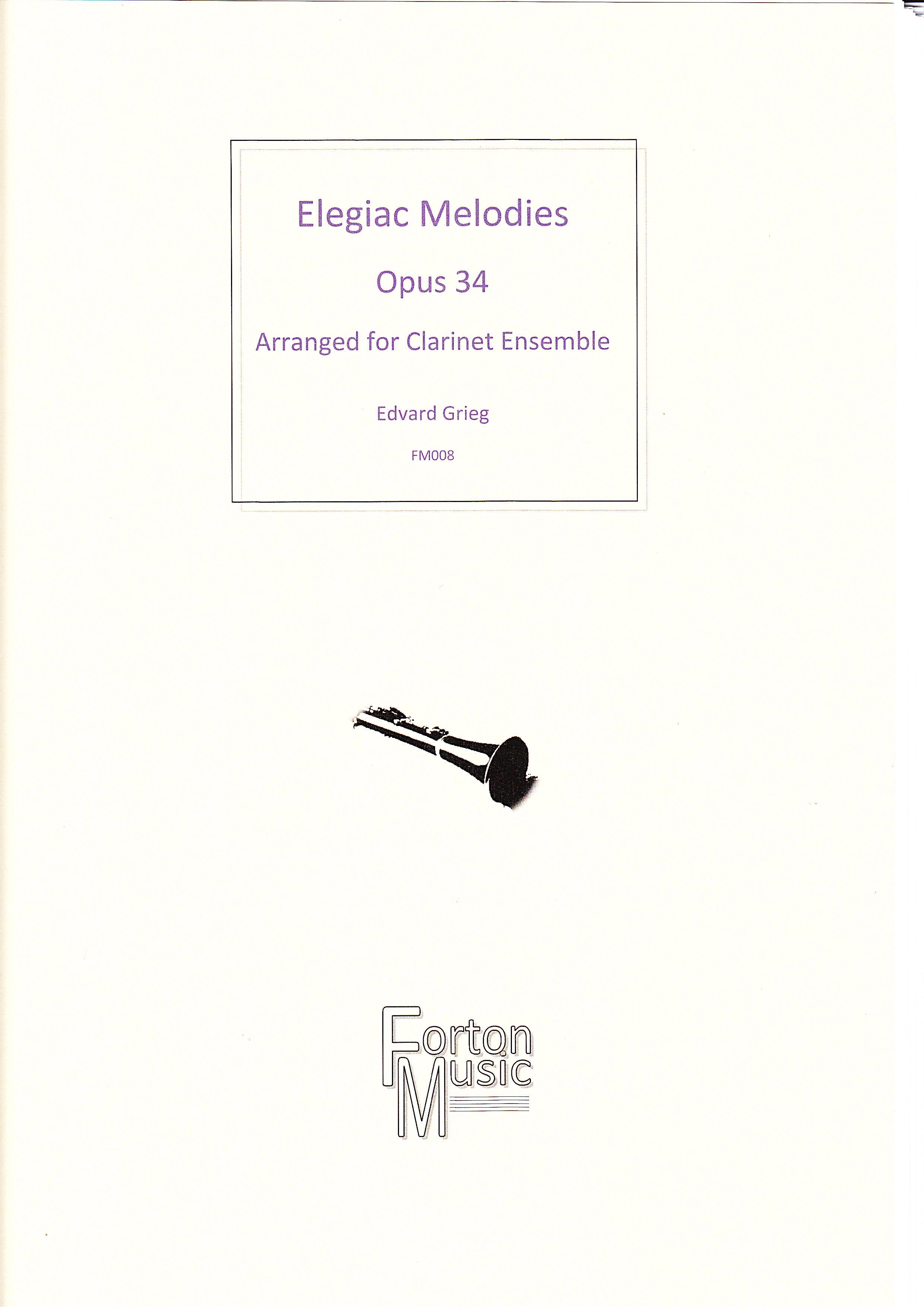 ELEGIAC MELODIES Op.34