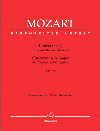 CLARINET CONCERTO in A major K622 (Urtext)