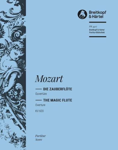 THE MAGIC FLUTE Overture (score)