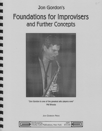 FOUNDATIONS FOR IMPROVISERS and Further Concepts