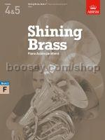 SHINING BRASS Book 2 Piano Accompaniment for F Horn