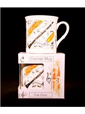 FINE CHINA MUG Clarinet Design