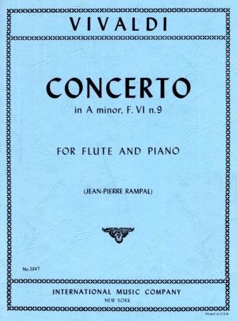 CONCERTO in A minor FVI/9 RV445 Op.44/26