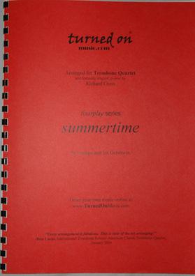 SUMMERTIME (score & parts)