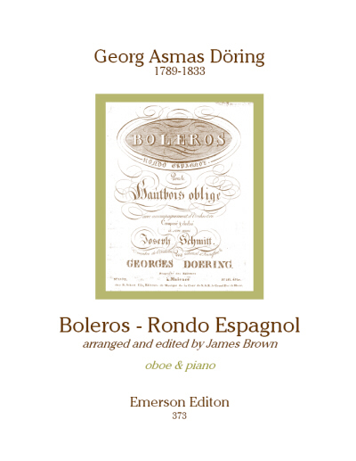 BOLEROS-RONDO ESPAGNOL (score & parts)