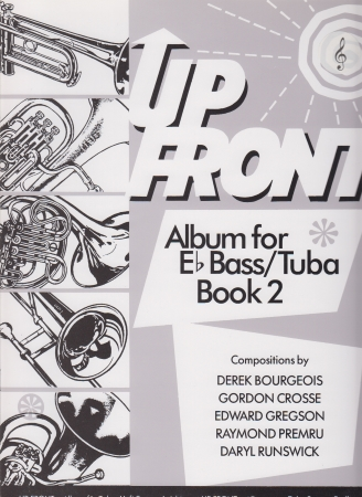 UP FRONT ALBUM Book 2 treble clef