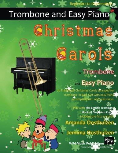 CHRISTMAS CAROLS for Trombone & Easy Piano