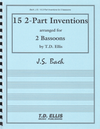 15 2-PART INVENTIONS (playing score)