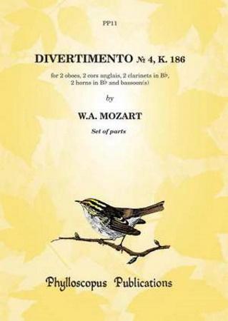 DIVERTIMENTO No.4 K186 parts
