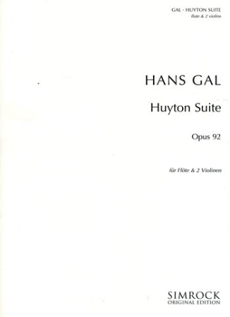 HUYTON SUITE in G Op.92 parts