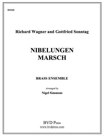 NIBELUNGEN MARSCH score & parts