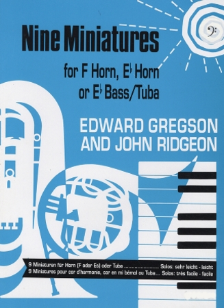 NINE MINIATURES (bass clef)