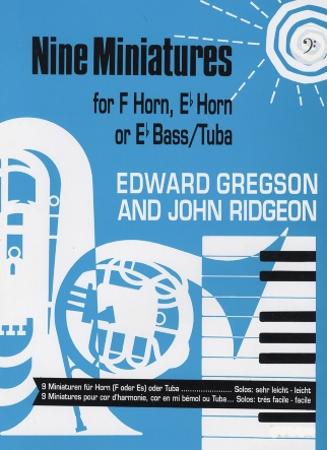 NINE MINIATURES (bass clef)