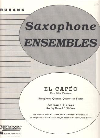 EL CAPEO (score & parts)