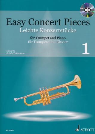 EASY CONCERT PIECES Volume 1 + CD