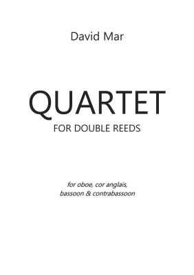 QUARTET for Double Reeds (score & parts)