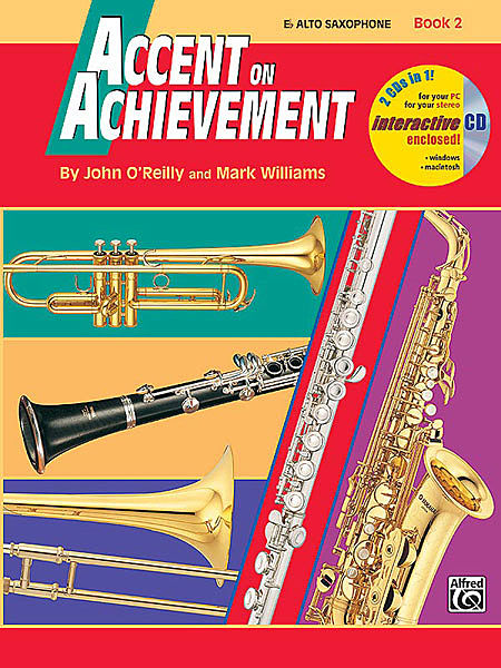 ACCENT ON ACHIEVEMENT Book 2 alto
