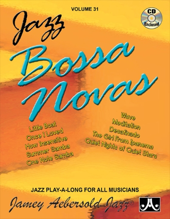 JAZZ BOSSA NOVAS Volume 31 + CD