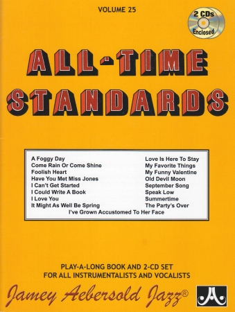ALL-TIME STANDARDS Volume 25 + CD