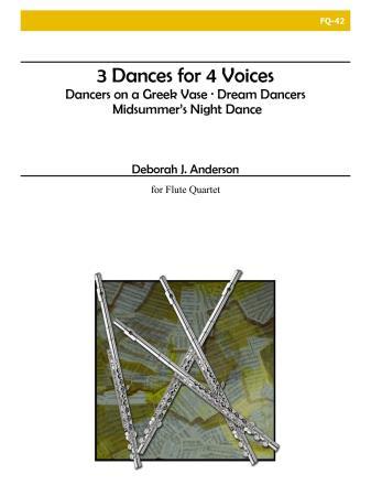 3 DANCES FOR 4 VOICES