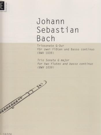 TRIO SONATA in G BWV 1039