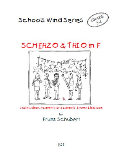 SCHERZO & TRIO in F major (score & parts)