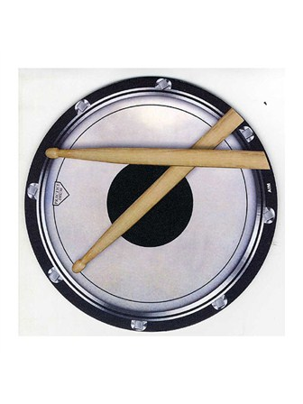 MOUSE MAT Drum Head and Sticks Design