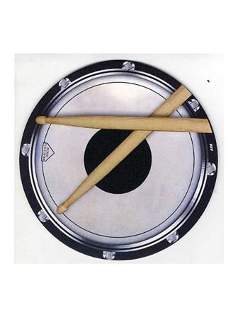 MOUSE MAT Drum Head and Sticks Design