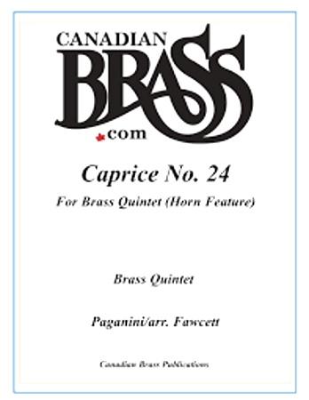 CAPRICE No.24 (score & parts)
